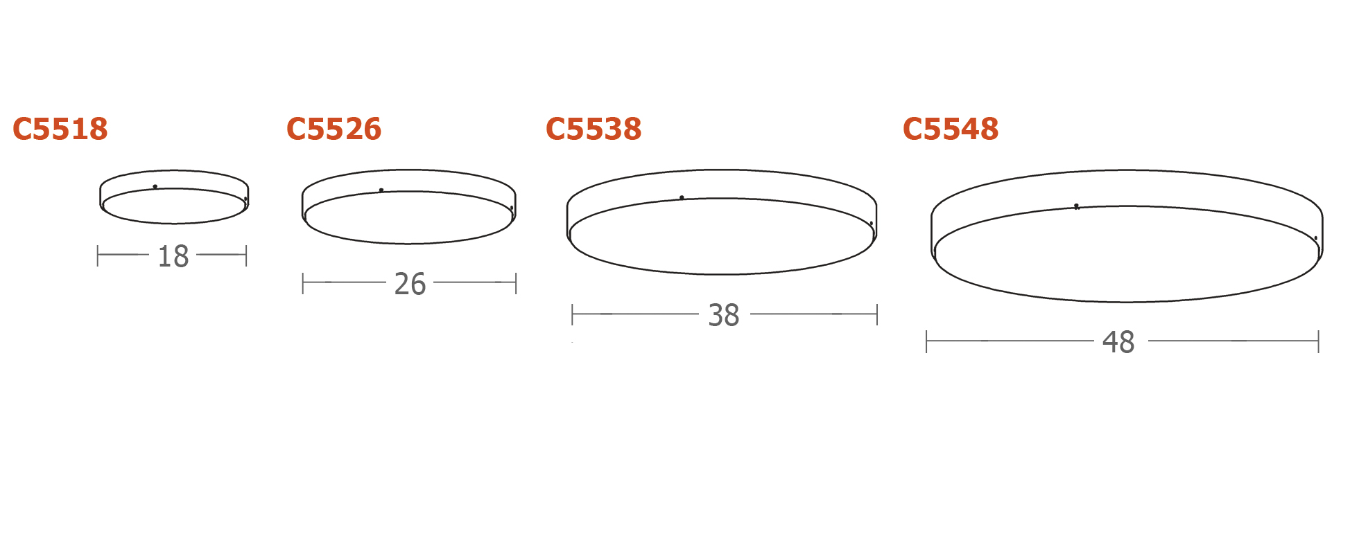 waf.r™ ceiling Dimensions Drawing